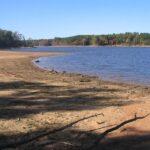 Drought in Falls Lake